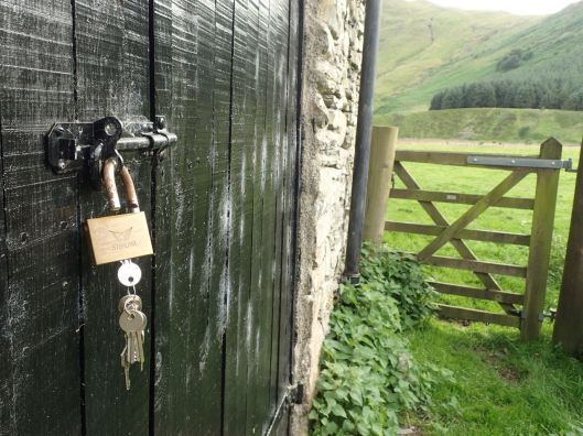 high borrowdale barn locked